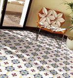 Baumaterial-populäres gelbes Rasterfeld Vitrified Badezimmer-Küche-Fußboden-Fliese
