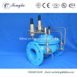 Combinazione di riduzione della pressione e valvola sostenente di pressione
