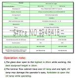 Sw-Cj-1b Einpersonenc$einzeln-seite (horizontale Druckluftversorgung) sauberer Prüftisch