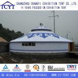 Familien-Partei-Ereignis kampierendes Aluminiummongolisches Yurt Bambuszelt