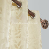 Small moderno Leaf Flower Pattern di Curtain