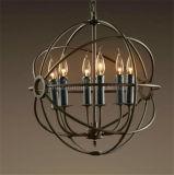 Phine dekorative Metallkugel-Form-hängende Lampen-Innenbeleuchtung