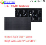 Muestra a todo color de interior de alta resolución LED P4 de SMD LED