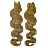 Уток 100% человеческих волос девственницы объемной волны волос Remy бразильский
