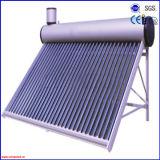 2016 rendre non la chaufferette d'eau chaude solaire compacte d'acier inoxydable de pression