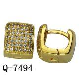 De fabriek Aangepaste Oorringen van Huggies van de Juwelen van het Koper