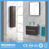 Vaidade principal do banheiro do gabinete do dobro de luxe livre da parte alta do MDF da posição (BF114V)