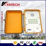 ハイウェイまたは地下鉄の非常電話の通信設備のための防水電話Kntech Knsp-13