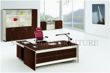 Melamin Bookcase Office mit Desk Office Lay-out Table (SZ-ODT654)