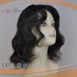 Heiße verkaufenart-mittlere lockiges Haar-Perücke