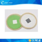 Escritura de la etiqueta del pegamento NFC etiqueta redonda de 30 del milímetro etiquetas adhesivas de la voz pasiva NFC