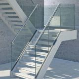 la glace Tempered incurvée plate de meubles d'espace libre d'épaisseur de 6mm avec du ce a reconnu pour des escaliers