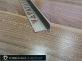 Profiles di alluminio L Shape Tile Edge Trim con Champagne Color