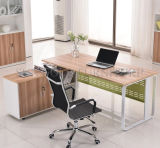 Desk Office Layout Table (SZ-ODT654)를 가진 멜라민 Bookcase Office