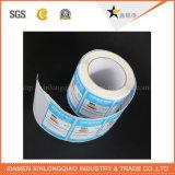Papel de vinilo de código de barras impreso térmica Etiqueta engomada Servicio de impresión de la impresora