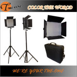 White/Cool chaud White 896PCS DEL Video Panel Light