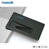 De Aandrijving van de Flits van de Emblemen USB van de Creditcard van de Douane van Adreskaartjes