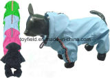 Haustier-Kleidungs-Umhüllungen-Mantel wasserdichter Coldproof Hunderegenmantel