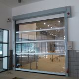 Porta automática retrátil de alta velocidade do PVC (HF-1027)