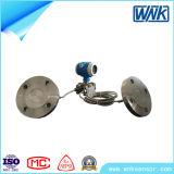 Transmissor de pressão diferencial selado remoto elevado esperto de Accurcy com indicador local