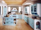 Kirschhölzerner Typ moderner Küche-Schrank