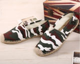 Form-Art-flache Hanf-Schuhe mit speziellem Muster (MD 21)