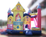 Bouncer di salto della principessa Inflatable Bouncy Castle Inflatable