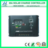 熱いAuto12V/24V 20A LED DIGITAL PWM Solar Charge Controller (QWP-1420SLC)