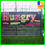 PVC ao ar livre Flex Vinyl Mesh Fence Banner de Digital Printing para Advertizing