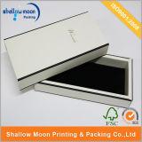 Коробка оптового белого ящика бумажная с пленкой Matt (QYZ266)