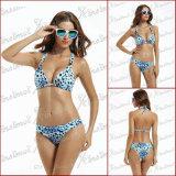 Beachwear caldo dello Swimwear della tintura del legame di vendita di estate