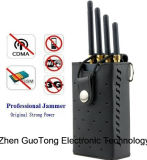 Segnale Jammer 3G GSM CDMA Signal Jammer WiFi Signal Jammer Cell Phone 3G WiFi Signal Jammer Cooling Fans Output 3W