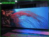 pared a todo color de interior del vídeo de 12m m LED