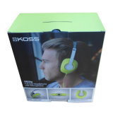 Paper marcado Display Box para Electronic Product (HeadPhone)