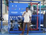 Getränkegetränke, die Gefäß-Eis-Maschine des Gefäß-Eis-Maker/15ton abkühlen