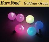 Colore di illuminazione del LED che cambia l'indicatore luminoso della sfera del giardino del LED