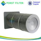 Cartucho de filtro de revestimento de pó automático Membrane PTost