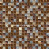 Glass & Culture Stone를 가진 포도 수확 Style Crackle Ice Ceramic Mosaic