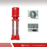 Bomba de agua vertical hidráulica compacta de la lucha contra el fuego