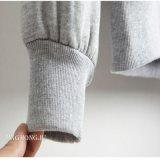Повелительницы, Knit, вышивка, Hoodie, Drawcord, пуловер Waistband нервюры с передним карманн