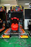 Arcada de fichas del simulador de Moto Gp4 que conduce compitiendo con la máquina de juego de interior