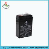 6V 2.8ah wartungsfreie VRLA AGM-nachladbare Batterie