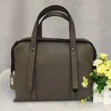 ショッピングファッション・デザイナーの本革袋の肩のトートバックEmg4574