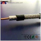 De alta calidad de 75 ohmios cable coaxial RG11 con conectores