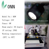 Luz do Gooseneck da luz IP65 do trabalho da máquina do diodo emissor de luz 24V/100-240V de M3w