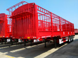 Dongrunのブランド3の車軸棒の貨物トラックのトレーラー