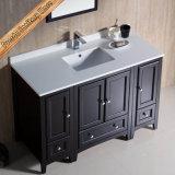 Cabinet bon marché de meubles de salle de bains en bois de chêne