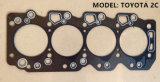 Уплотнение набивками головки цилиндра для Тойота 2c
