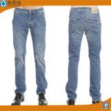 2016年のOEMの高品質の人の綿の洗浄ジーンのズボン