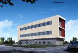 H-Träger-Stahlkonstruktion-Bürohaus